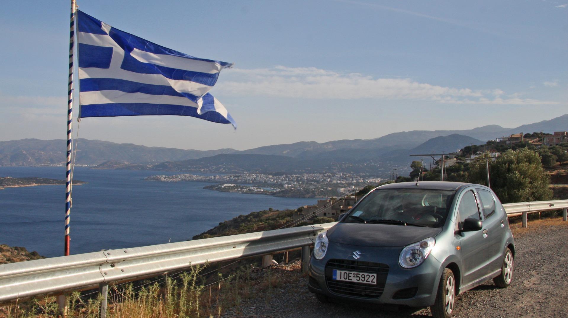Водительские права в Греции