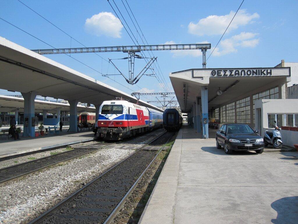 Как добраться из аэропорта Салоники до жд вокзала